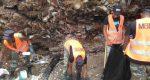 Mopc refuerza brigadas que retiran basura del Malecón tras 18 días de trabajo
