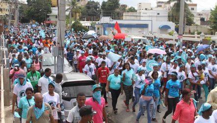 Una multitud pide despenalicen el aborto en la República Dominicana