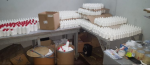 Cierran fábrica de medicamentos falsificados y apresan dos personas