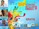Celebrarán IV Festiva Internacional Artistas Unidos