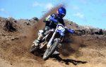 Piloto Manny Mora brilla en motocross de Río San Juan