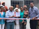 SANTIAGO: Obras Públicas entrega casa a familia víctima incendio