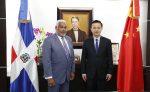 Primer embajador de China en RD visita presidente de los Diputados