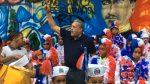 UDC conmemora con mural patriótico 155 aniversario de la Restauración