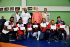 Lucha entrega 300 mil pesos a medallistas de Baranquilla