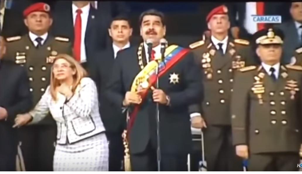 [Video] Venezuela califica explosión como atentado contra Maduro