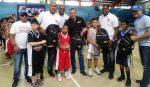 San Lázaro inicia torneo minibasket Ciudad Colonial