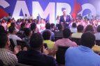 """Abinader promete """"erradicar"""" corrupción y la impunidad en RD"""