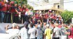 Con gran júbilo atletas dominicanos desfilan en Caravana del Triunfo