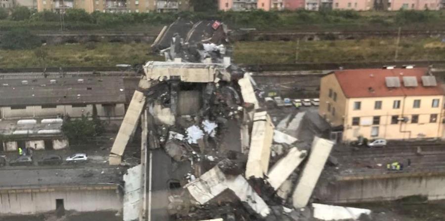 ITALIA: Ascienden a decenas los muertos tras derrumbe de puente