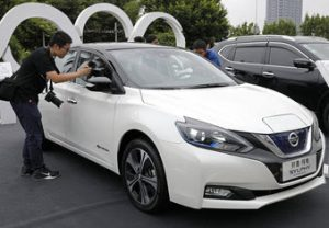 Nissan lanza carro eléctrico en China