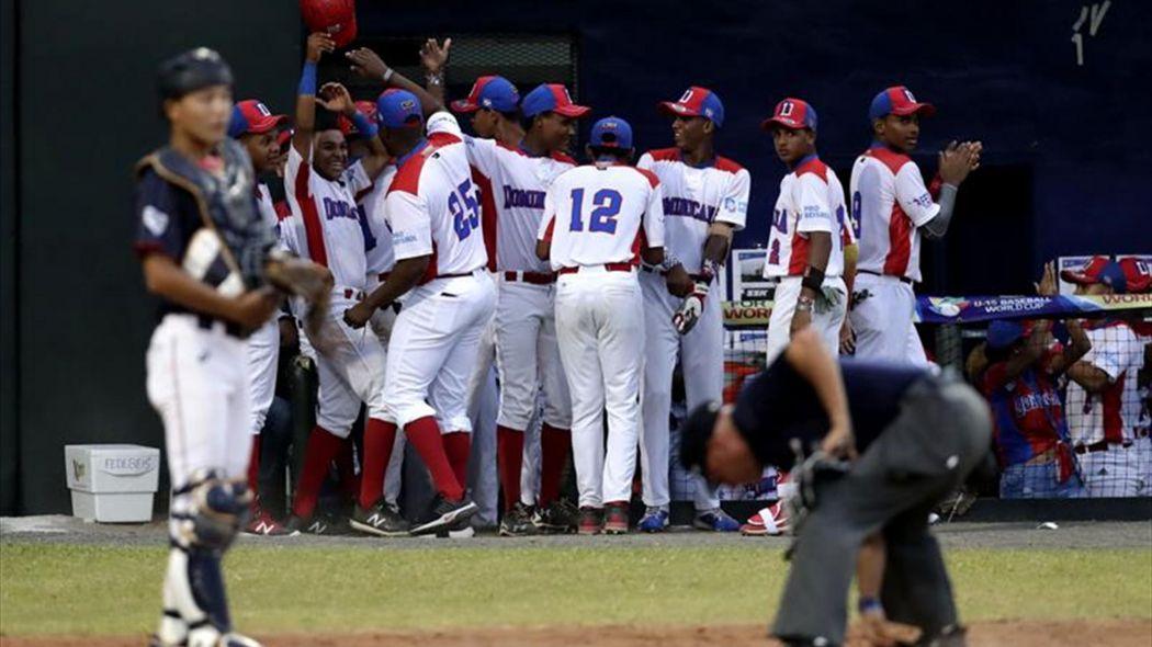 República Dominicana pasa súper ronda Mundial sub'15 de Béisbol