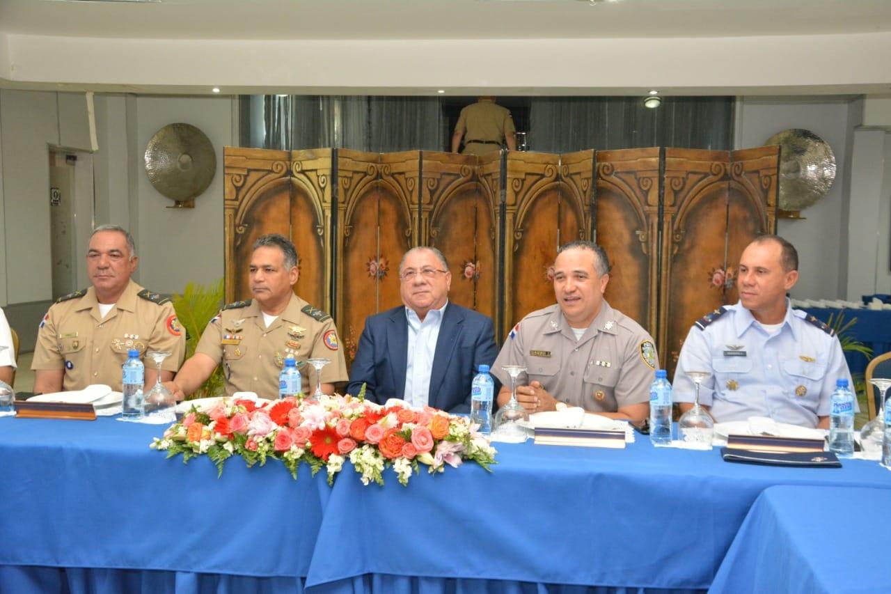 Autoridades coordinan acciones conjuntas por seguridad ciudadana