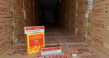 Incautan cargamento cercano a 10 millones de cigarrillos en Haina