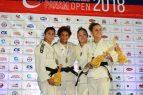 Soriano y Mateo ganan oro en Panam Open de Judo Tokio 2020
