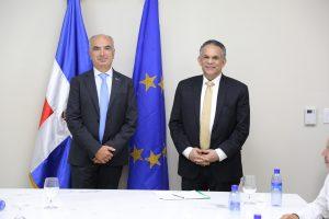 Unión Europea asegura apoyo a reformas que ejecuta el MAP