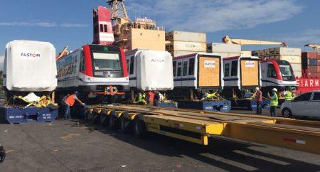 La OPRET incorpora a las líneas 2 y 2B del metro dos nuevos trenes
