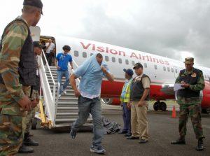 Llegan a la República Dominicana otros 81 deportados desde EE.UU.