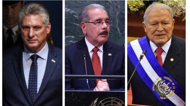 China anuncia visitas presidentes de Cuba, R.Dominicana y El Salvador
