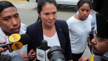 PERU: Detienen a Keiko Fujimori por pedido Fiscalía de Lavado de Activos