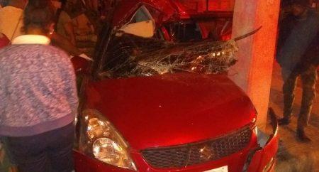 Mueren dos jóvenes de 22 y 17 años en accidente tránsito avenida 27 Febrero