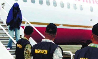 Deportan desde Estados Unidos a otros 108 exconvictos dominicanos