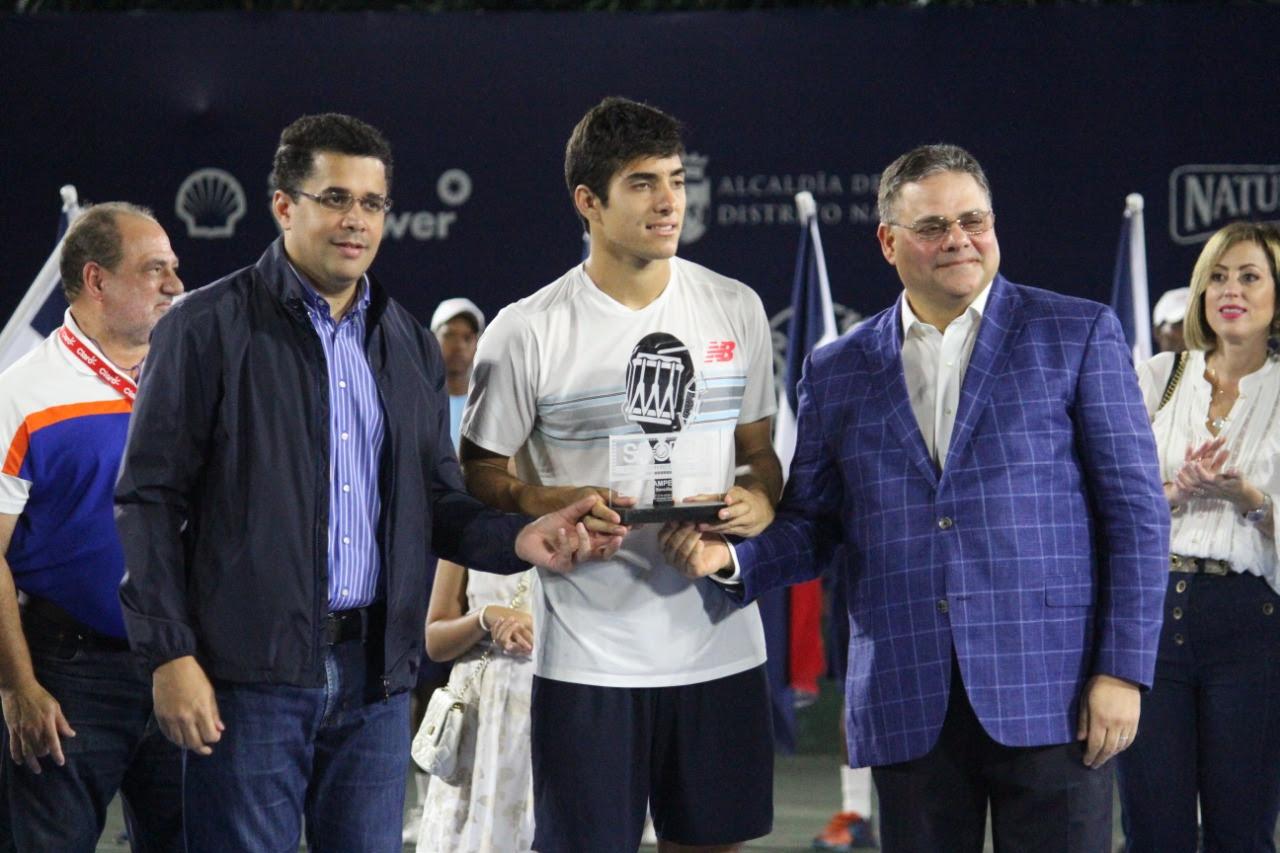 Christian Garín, campeón sencillos Santo Domingo Open