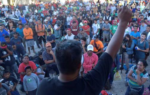 GUATEMALA: Hallan migrantes de Haití en caravana hacia los EEUU