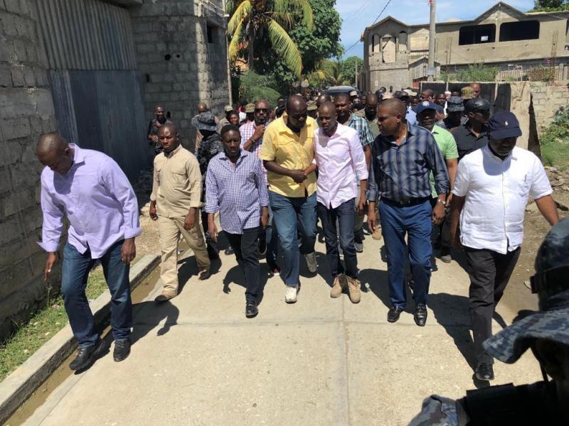 HAITI: Presidente viaja zona afectada por terremoto que dejó 12 muertos