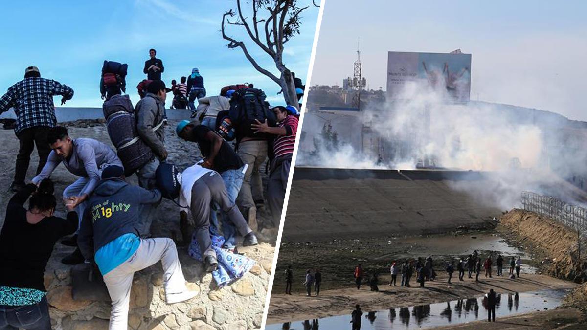 EEUU: Gobierno advierte volvería recurrir a gas lacrimógeno ante migrantes