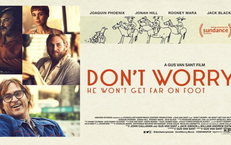 "Crítica de cine: ""Don't Worry, He Won't Get Far on Foot"""
