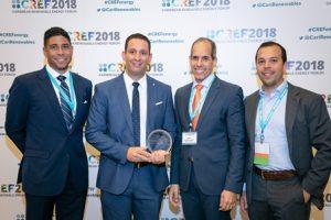 AES Dominicana recibe premio del año por el innovador sistema de almacenamiento de energía