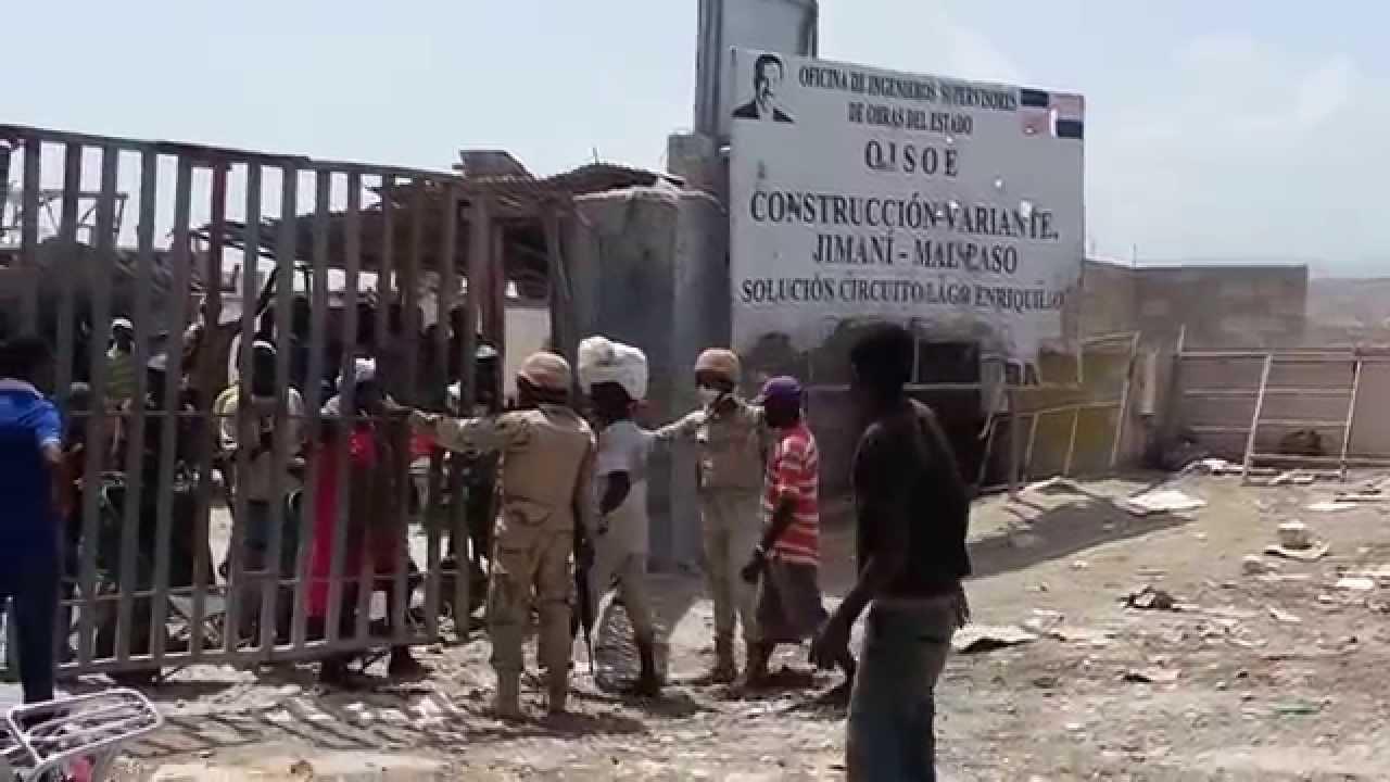 Cobra fuerza idea de construir un muro en frontera de R. Dominicana con Haití