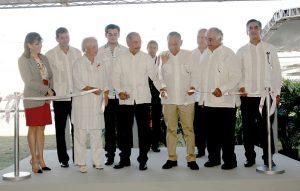 Presidente encabezó inauguración instalaciones Coastal Petroleum