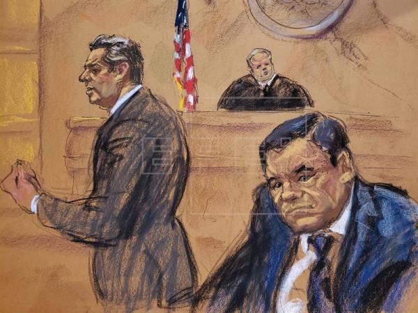 """NY: """"El Chapo"""" acusa a presidentes mexicanos de recibir dinero del narco"""