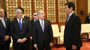 CHINA: Presidente Asamblea ve RD también tiene crecimiento milagroso