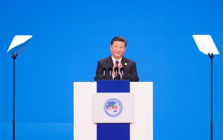 CHINA: Xi dice apertura es imparable y pide lucha contra proteccionismo