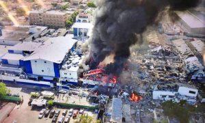 Ministerio Público da seguimiento a explosión en fábrica de plásticos