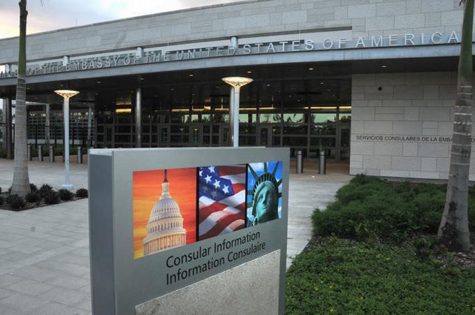 Suspendidas las redes sociales de la Embajada de EEUU en La Habana