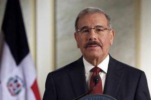Danilo Medina envía mensaje a EE.UU. por tiroteos ocurridos en Texas y Ohio