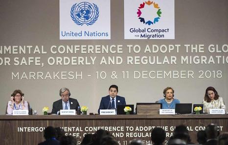 Aprueban Pacto Mundial Para Una Migración Segura propuso la ONU