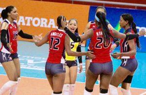 Voleibol RD choca ante Cubaen el inicio Copa Panam en Perú