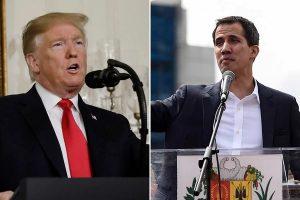 EU: Trump felicita a Guaidó por «histórica asunción» de Presidencia de Venezuela