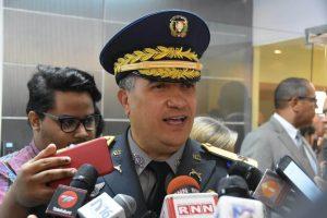 Director PN: Refuerzo patrullaje redujo delitos en áreas comercialesde la RD