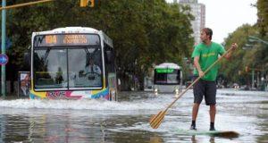 Inundaciones no paran en Argentina