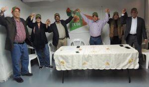 Partido Unidad Democrática Institucional anuncia apoyo a Francisco Fernández