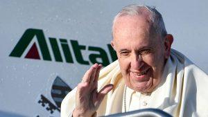 El papa Francisco envió un mensaje a R. Dominicana