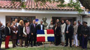 COLOMBIA: Embajada RD conmemora natalicio Duarte