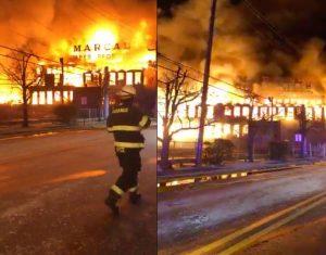 NUEVA JERSEY: Incendio destruye planta de papel
