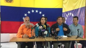VENEZUELA: Líderes de oposición convocan marcha nacional próximo miércoles